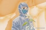 市贝博游戏院(市二人医)领导慰问坚守一线战高温医务人员